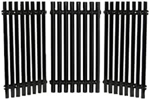 Set of 3 Music City Metals 53073 Porcelain Steel Cooking Grid Replacement for Gas Grill Models Charbroil 463434313 and Charbroil 463436813