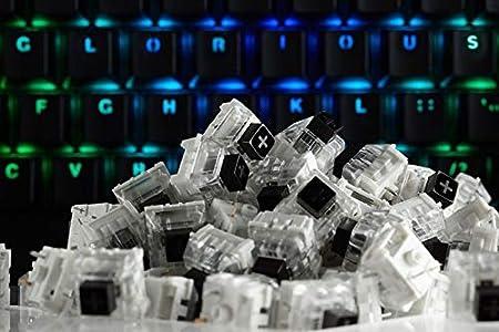 Glorious PC Gaming Race Conmutadores Kailh Box Black para teclados GMMK - 120 Piezas