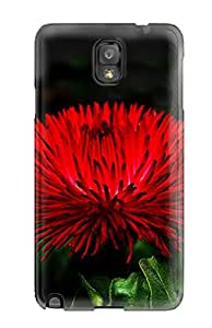 Fashion Case Cover For Galaxy Note 3(red Flowers)