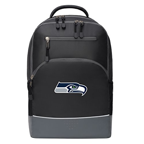 Officially Licensed NFL Seattle Seahawks Alliance Backpack, Black