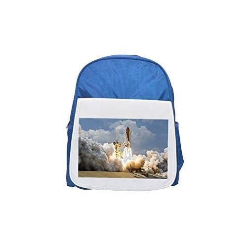 Rocket Launch, Rocket, Take Off, nasa Printed Kid 's Blue Backpack, Cute de mochilas, Cute Small de mochilas, Cute Black Backpack, Cool Black Backpack, Fashion de mochilas, large Fashion de mochilas, Black FAS