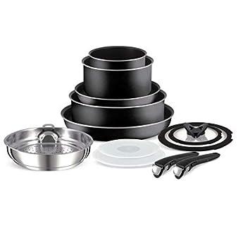 Tefal Ingenio - Juego de sartenes de aluminio (13 piezas): Amazon.es: Hogar