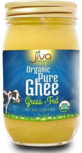 Jiva Organic Ghee 16 Ounce Artisan product image