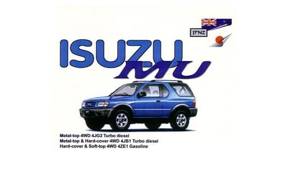 Isuzu Mu 91-96 Owners Handbook Paperback – Import, June 1, 2003