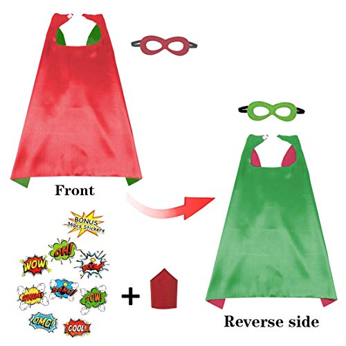 Kids DIY Cape Mask and Superhero Style Bracelet