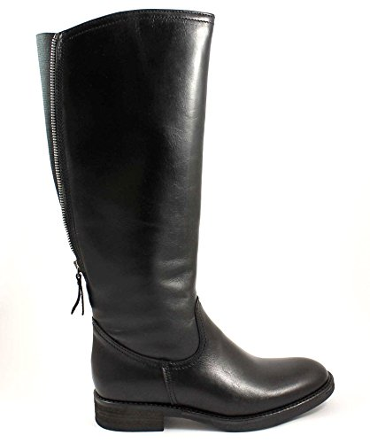 riding MISE boots black ST0310 GI Nero zip calf GRÜNLAND woman 5wfY4I5q