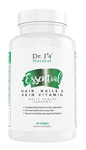 Essential Hair, Nails and Skin Vitamin by Dr. J's Natural