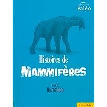 histoires de mammiferes (paleo)