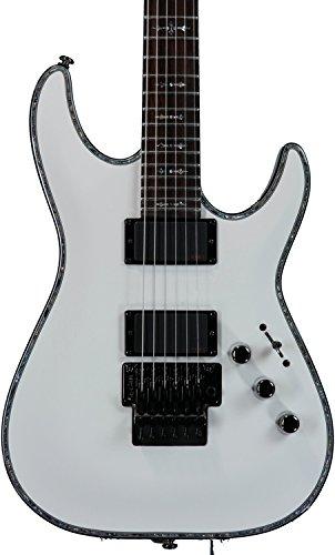 Schecter Guitar Research Hellraiser C-1 FR Electric Guitar - Gloss White ()