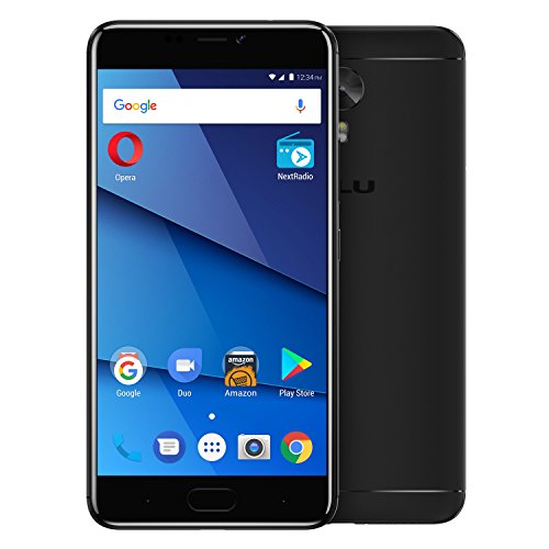 "BLU VIVO 8 - 5.5"" Full HD, 4G LTE Smartphone -64GB + 4GB RAM -Black"