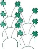 Set 6 St Patricks Day Green Shamrock...