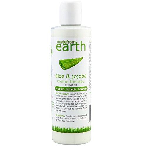 Organic Aloe Vera Lotion | Vitamin C & Organic Jojoba | For Face & Body