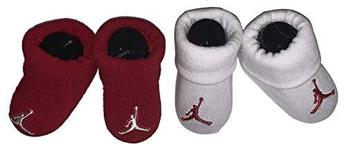 Infant Booties (2 Pair) Nike Jordan Size 0-6M (Air Jordan Baby Socks)