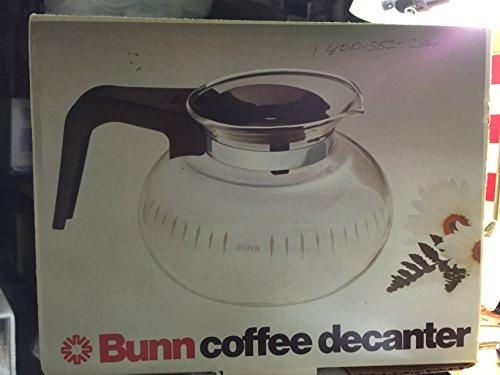 Bunn Coffee Decanter - Glass coffee carafe