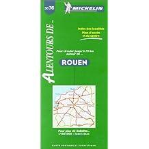 Michelin Rouen Map No. 3076