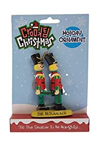 Crooked Christmas Ornament- The Nut-Cracker