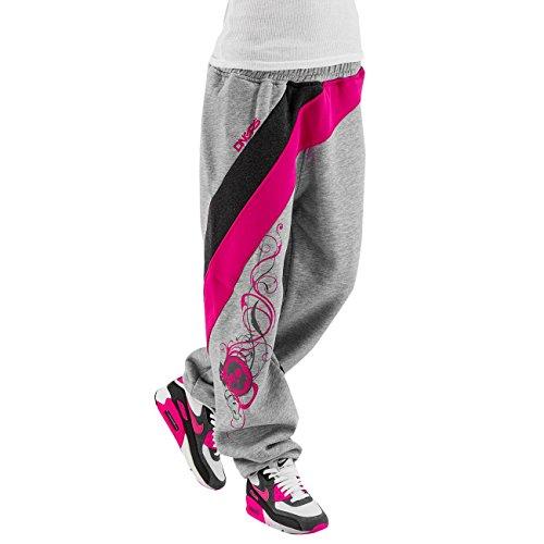 Dangerous DNGRS Mujeres Pantalones / Pantalón deportivo Classic gris