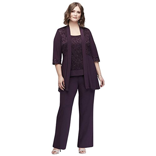 Davids-Bridal-Plus-Size-Mock-Two-Piece-Lace-and-Jersey-Pant-Suit-Style-7772W