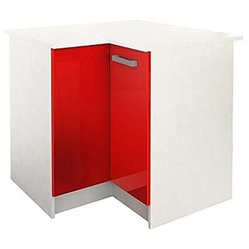 start meuble de cuisine bas dangle avec plan de travail l 88 x p - Meuble De Cuisine Bas Avec Plan De Travail