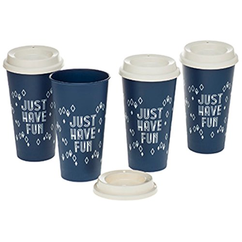 Aladdin Reusable To-Go Cup (4 Pack), 20 oz, Sapphire
