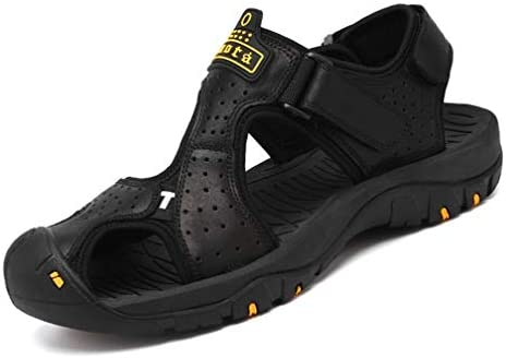 サンダル メンズ つま先保護 マジックタイプ ビーチサンダル 大きいサイズ 厚ソール スポーツサンダル 涼しい 歩きやすい 登山サンダル 滑り止め ファッションサンダル 通気 防臭 吸汗 耐久性抜群 紳士靴