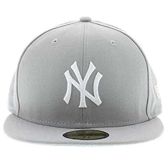 New York Yankees MLB Hats Gray/White