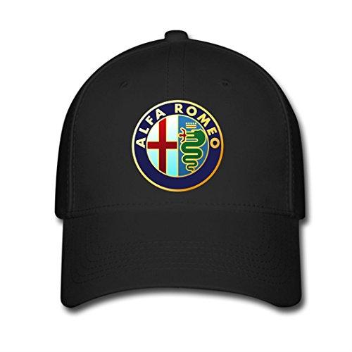 leeu-alfa-romeo-logo-adjustable-baseball-caps-black