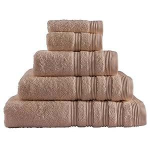 Catherine Lansfield - Toalla de baño de algodón (700 gsm), color marrón claro