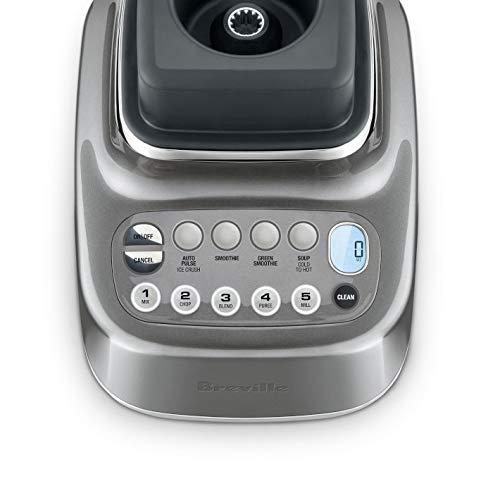 Breville the Q BBL820SHY1BUS1 Commercial Grade 1800-Watt Quick Super Blender