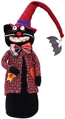 Peanutaso Nuevas Decoraciones de Halloween Juego de Mesa de Escritorio Muñecas Festival de Fantasmas Escena Disfraz de Calabaza Bruja Arreglo de Momia: Amazon.es: Hogar