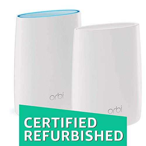 NETGEAR Orbi Home Mesh WiFi System (RBK50) (Certified Refurbished)