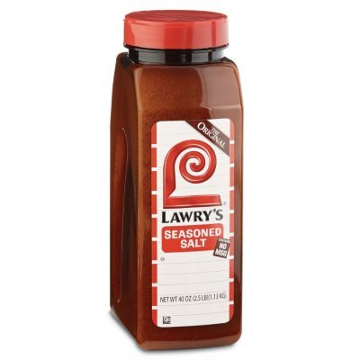 Lawry's Seasoned Salt - 40oz container (2 Pack) by Lawry's