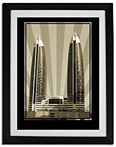 Photo of Damac Tower-Sepia No Text F06-M (A3)