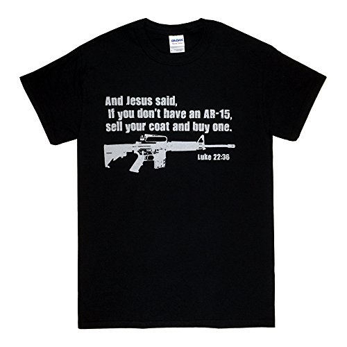 Jesus-Pro-Gun-AR15-Luke-2236-Bible-Christian-T-Shirt