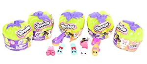 Shopkins Halloween 2017 Shoe Collection Set of 9 (Including 2 Glows in the dark)