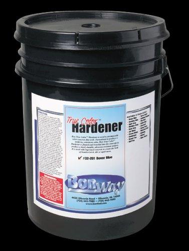 BonWay 32-206 True Color Concrete Hardener, Jet Black