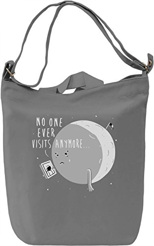 No One Ever Visits Anymore Borsa Giornaliera Canvas Canvas Day Bag  100% Premium Cotton Canvas  DTG Printing 