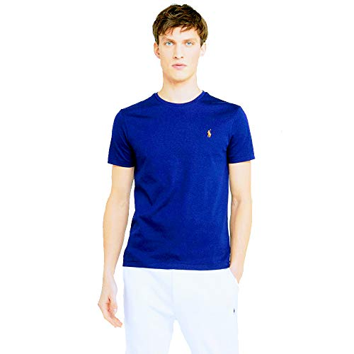 Ralph Lauren Camiseta Basica para Hombre Custom Slim Fit (L, New ...