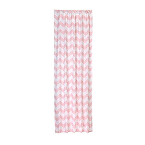 Little Bedding by NoJo Chevron Window Panel - Pink from Little Bedding