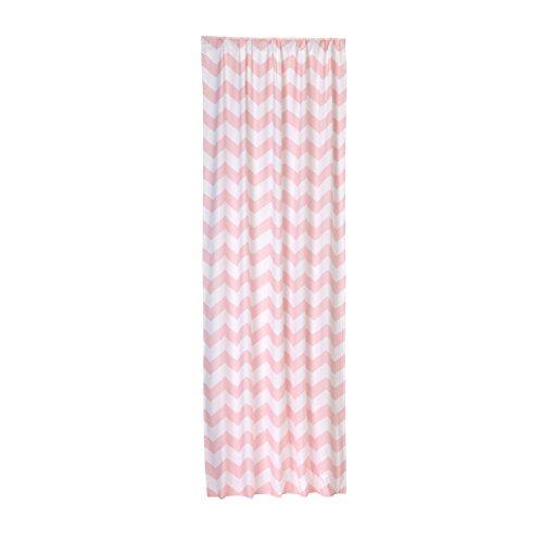 (Little Bedding by NoJo Chevron Window Panel - Pink)