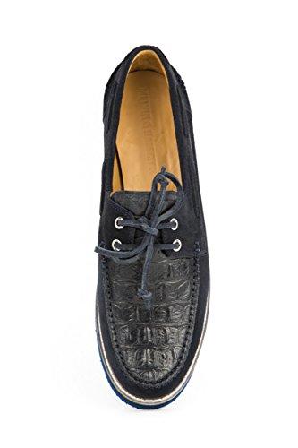 MELVIN & HAMILTON Herren Jim 1 Bootsschuhe Schnürer Blau Gr. 42