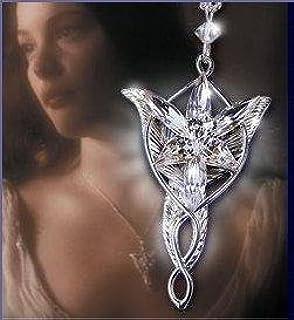Lord of the rings arwen pendant light ideas light ideas the lord of the rings elf queen arwen evenstar pendant necklace arwen evenstar necklace lotr lord aloadofball Gallery