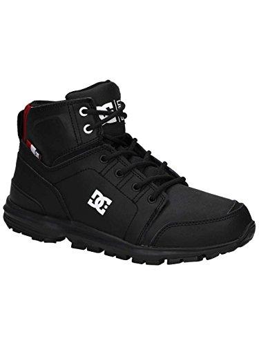 DC Shoes Torstein, Botas Clasicas Para Hombre BLACK/ATHLETIC RED/WHITE
