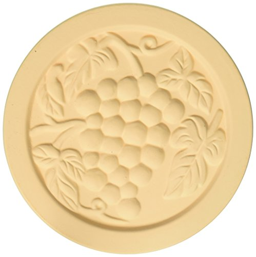 (MountainStone CGY4 Yellow Grapes Absorbent Stone Coasters 8 Pack, 4.2 X 4.2 X)