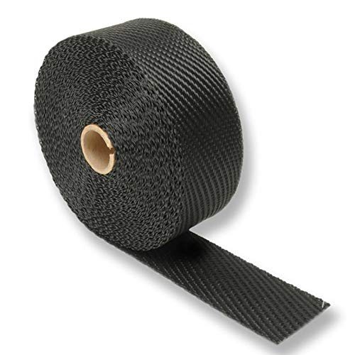 Design Engineering 010003 Black Titanium Exhaust Heat Wrap with LR Technology, 2