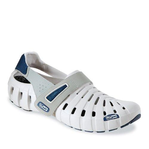 Propet Hombres Voyager Sandals Gris Claro / Azul