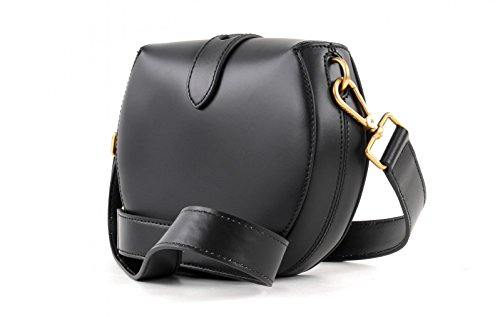 Coccinelle crossbody Minibag Calf leither black