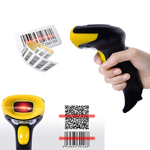 OBT-6801 Wired Handheld 1D 2D Barcodes QR Code Reader USB Cable Directly Use For Supermarket Retails Windows Android IOS POS System by OBT Scanner