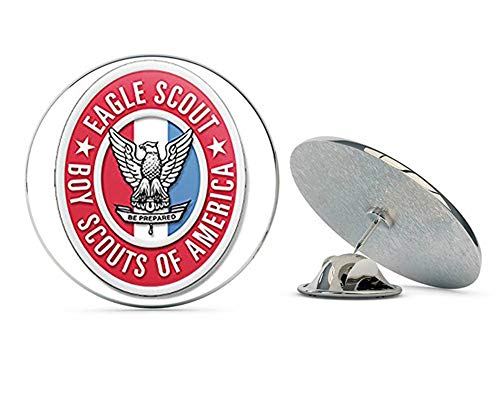 NYC Jewelers Oval Eagle Scout Logo (Scouting Emblem insigina boy Scouting) Metal 0.75