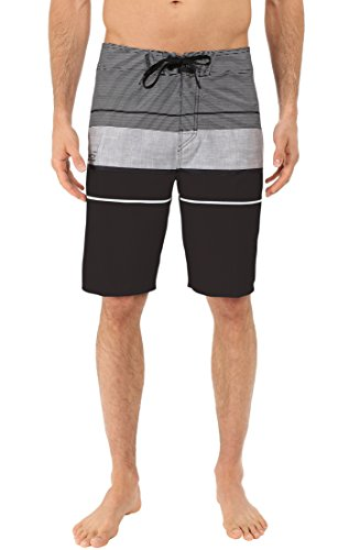 Navigator Quick Dry Shorts - Silwave Men's Navigator High Performance Board Shorts, Black, Size 31